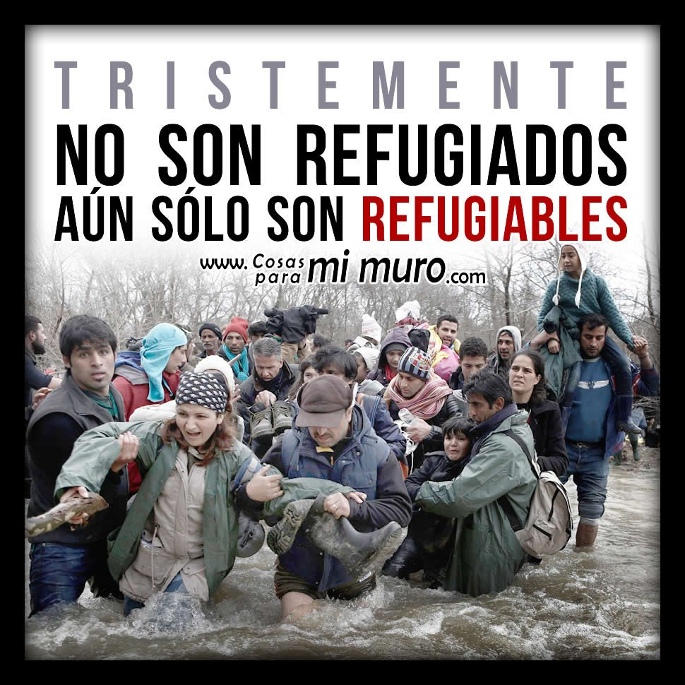 No son refugiados