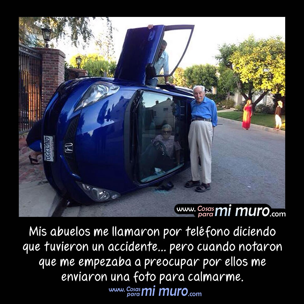 Abuelos accidentados