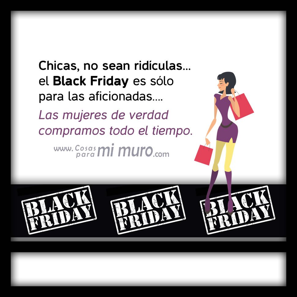 El Black Friday es para aficionadas