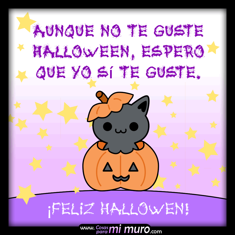 Aunque no te guste Halloween