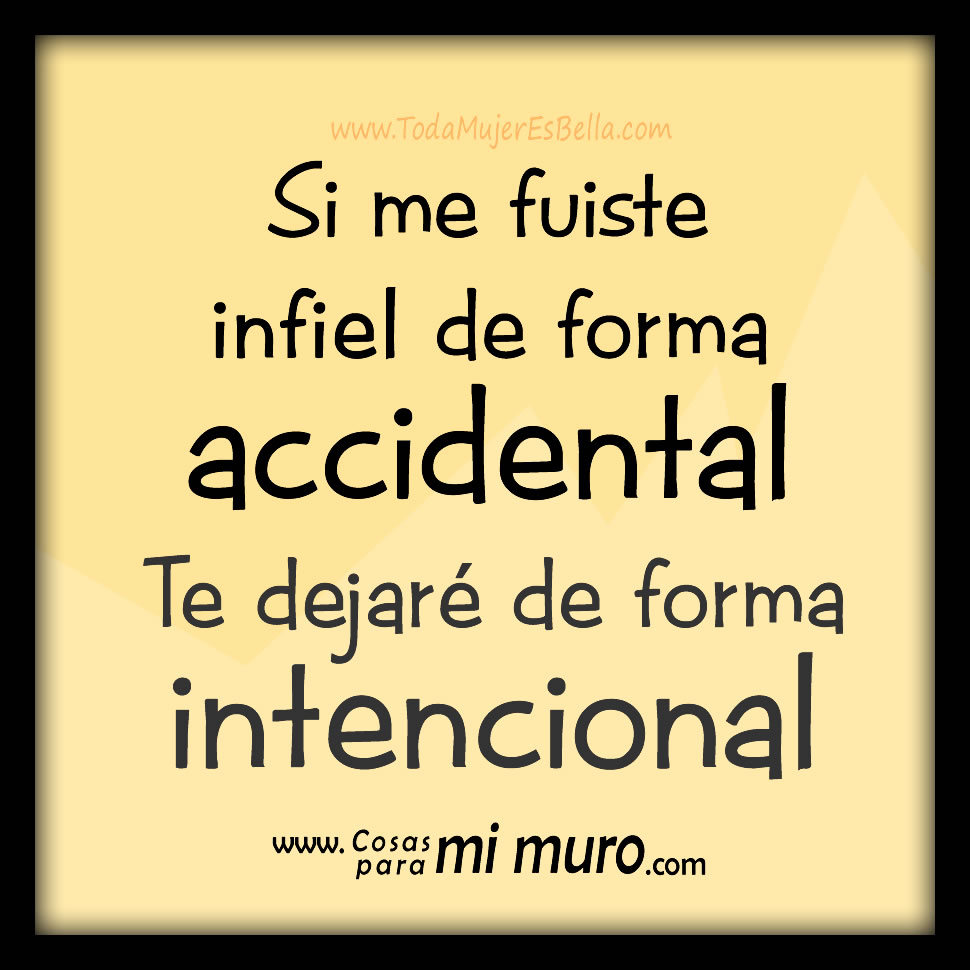 Accidentalmente infiel